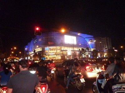 The Maya mall, Chiang Mai, at night
