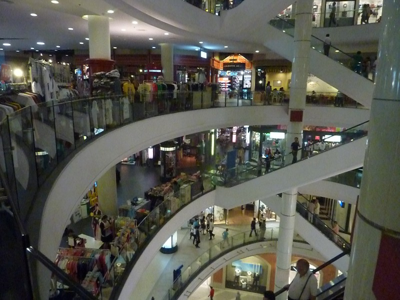 A general view inside Terminal 21 mall near Asoke, Bangkok