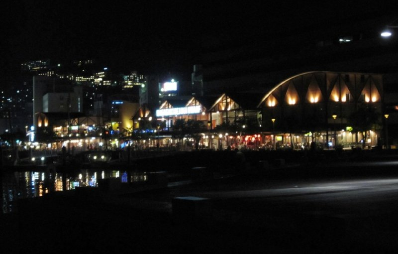 Deajama Wharf at Night