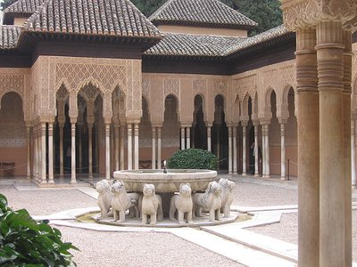 alhambra Lions fountain (from email)