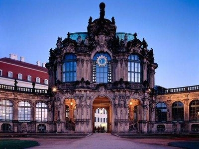Dresden - Zwinger (clock tower)