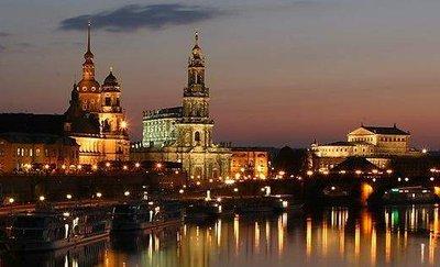 Dresden River view