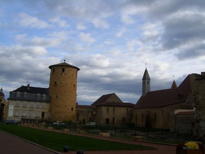 Abbey in Charlieu
