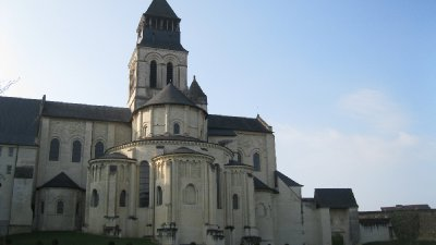 The abbey of Fontevraud