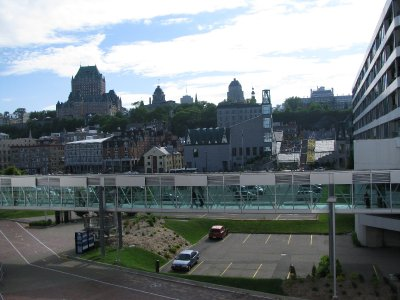 View from HAL Maasdam in Quebec City