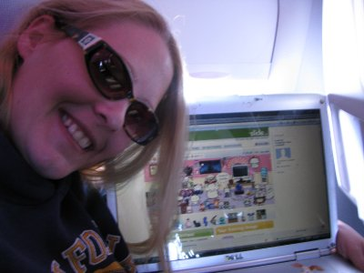 Online at 30,000 feet