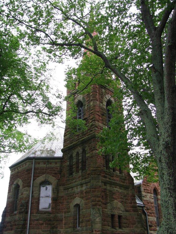 Church in Charlottetown, PEI