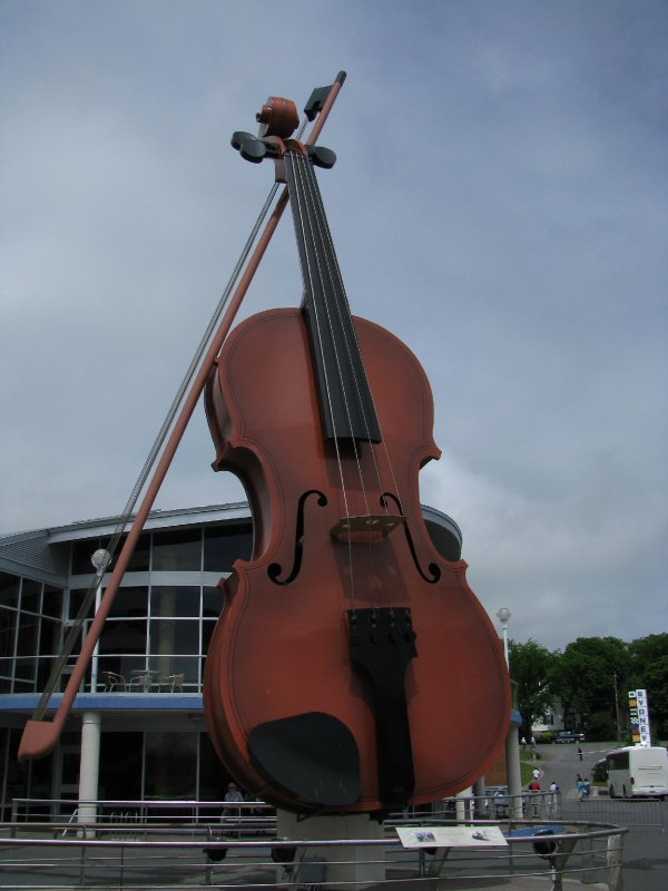 World's Largest Fiddle