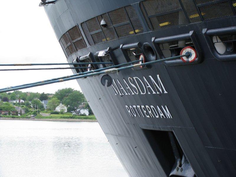 HAL Maasdam in Sydney, Nova Scotia