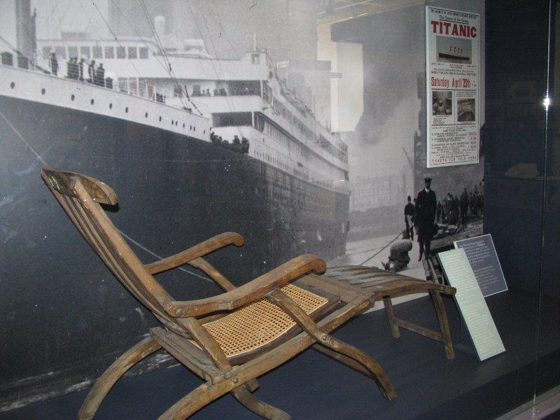 Titanic Deck Chair