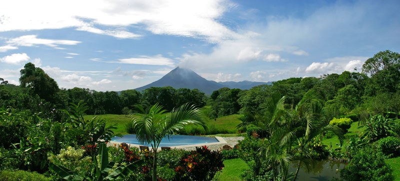 Hotel Arenal Inn View to the Arenal Volcano