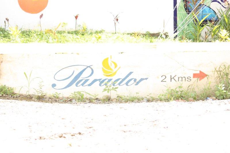 Hotel Parador sign