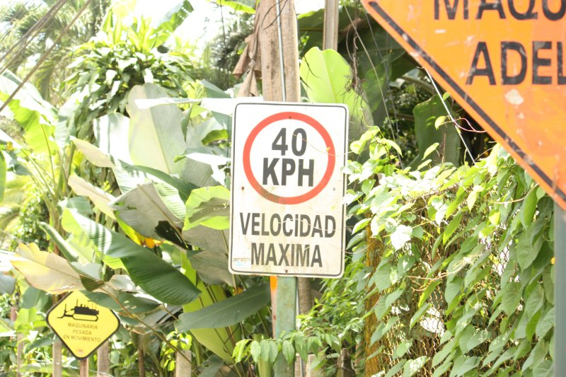 A taste of the road signage... what's a kilometer??