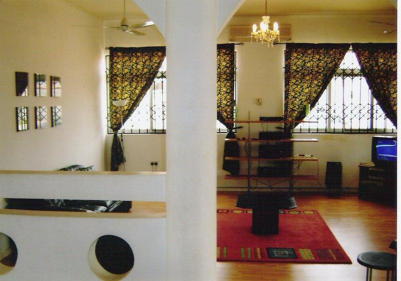 Ghana - Akotaa villa lounge