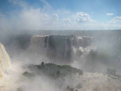Las Cataratas, Foz do Iguazu, Brasiliansk side