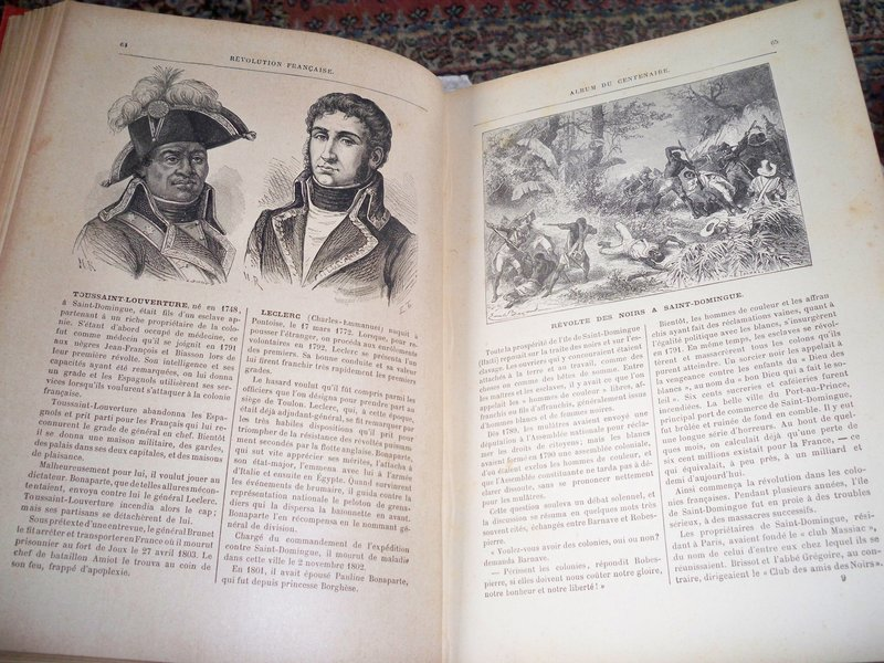 100 year-old French history book