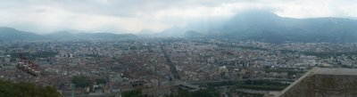 Semi-panorama of Grenoble