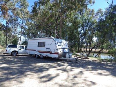 Camp at Neil Turner Weir