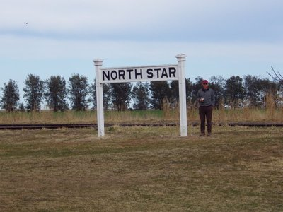 Bob at North Star Rail siding