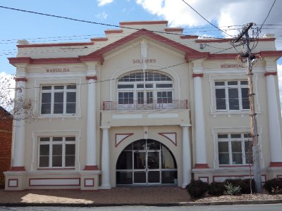 2013 Sep 17 Soldiers Memorial Hall Warialda