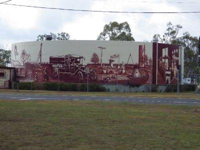 2013 Sep 17 Mural at Millmeran