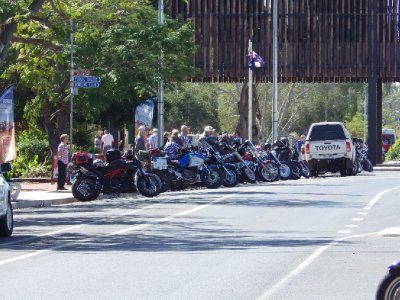 2013 Sep 5 Motor Bikes at Barcaldine