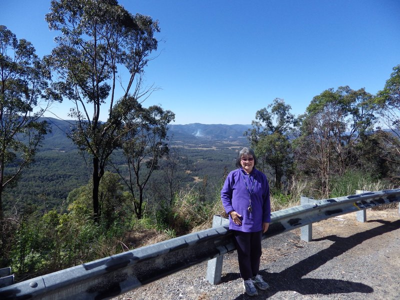 Hiroe at Hills Lookout