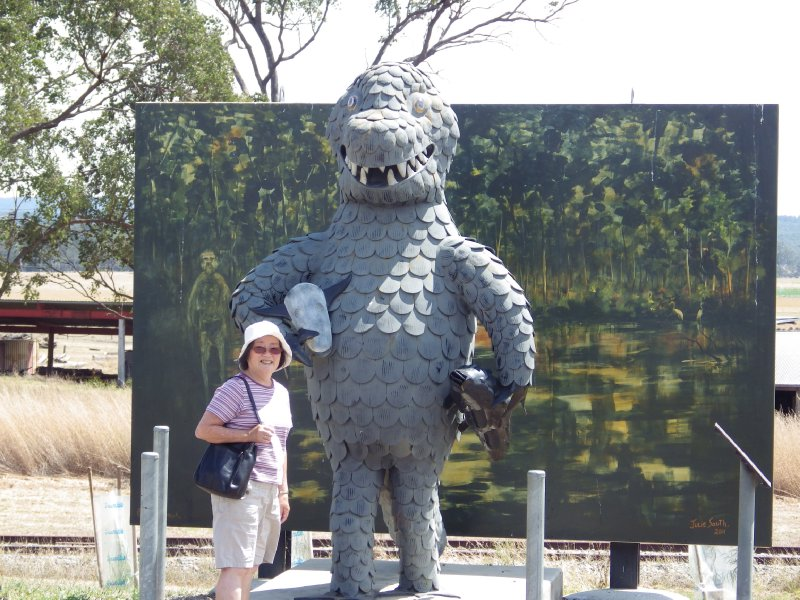 2013 Sep 13 Hiroe with Bunyip at Mulgidie