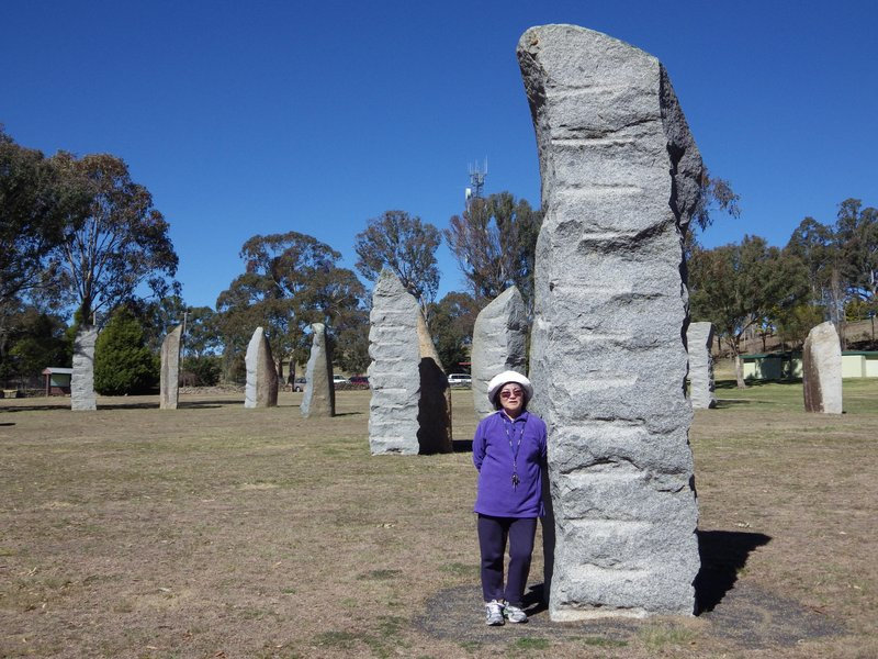 Hiroe and Standing Stones