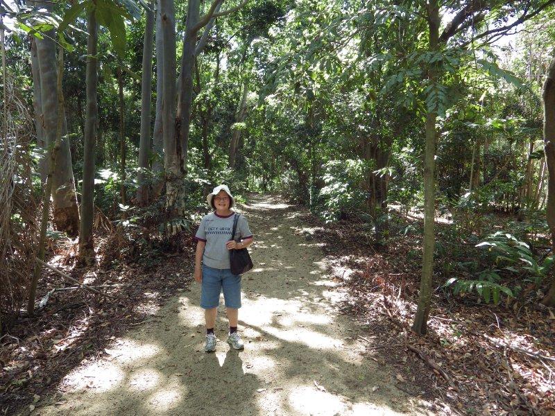 2013 Sep 9 Hiroe in Kershaw gardens Rockhampton