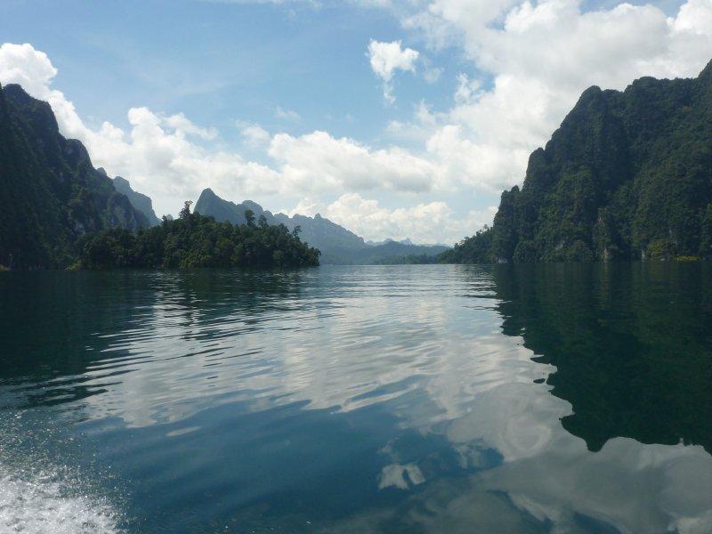 K.Sok Cheow Lan Lk Limestone Mountains