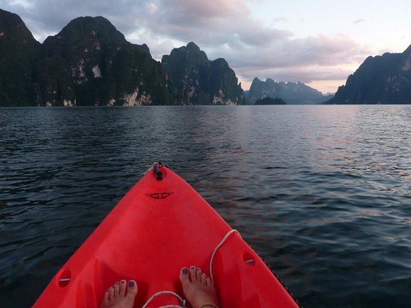 K.Sok Cheow Lan Lk Sunset Kayak