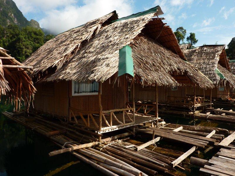 K.Sok Cheow Lan Lk My floating raft hut