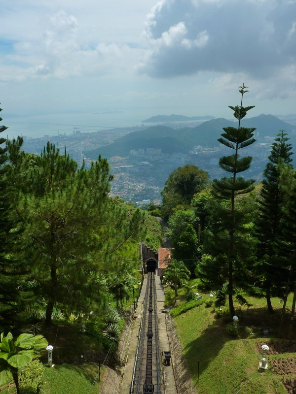 Penang Hill Train Tracks
