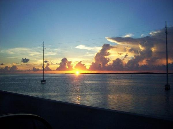 lSunset off of Islamorada