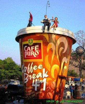 coffee mug in bay walk philippines