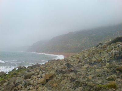 The Beach below Niton