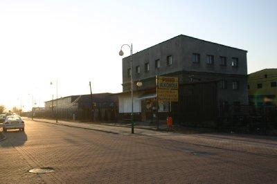 The town of Auschwitz