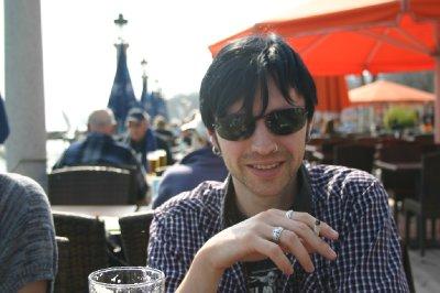Me at Starnberger lake near Munich