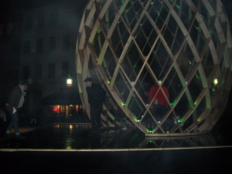A piece at the Fête des Lumières