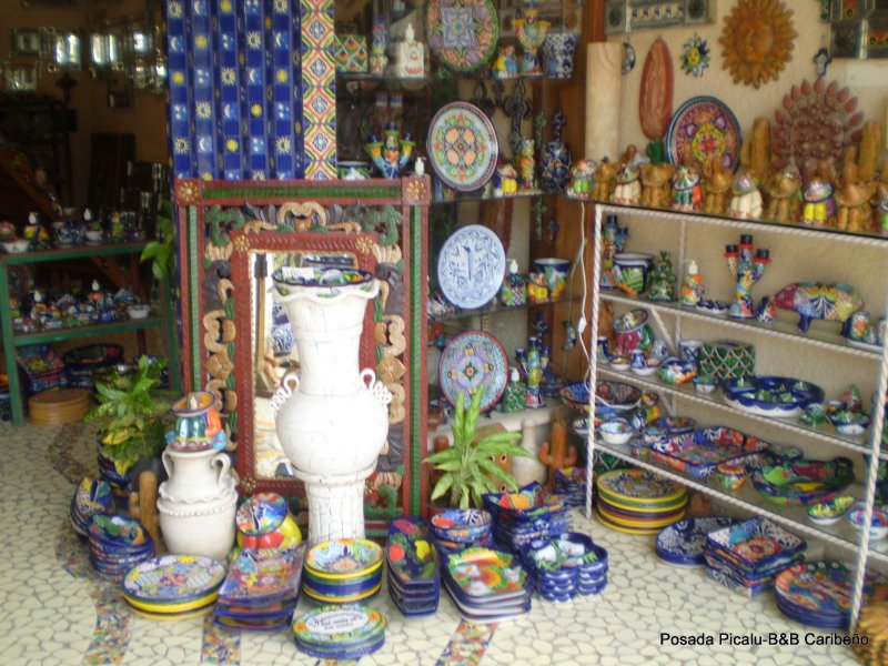 local artisan pottery