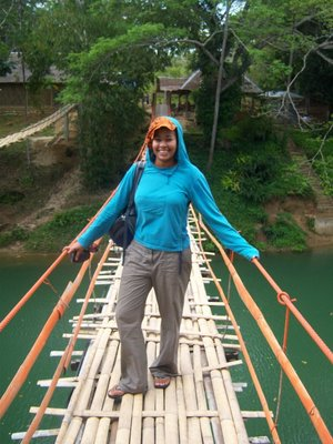 Me on Hanging Bridge