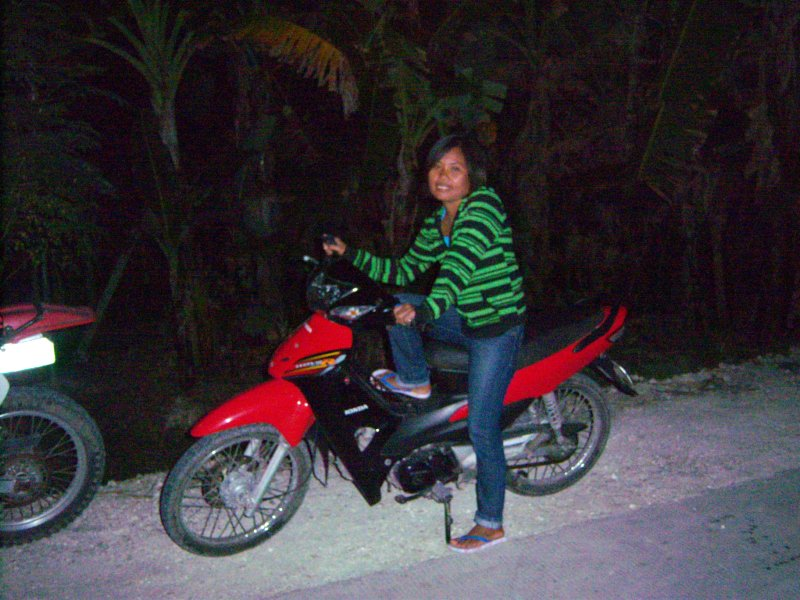 Gretel and her bike
