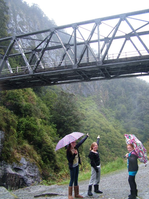 Girls at One Lane Bridge