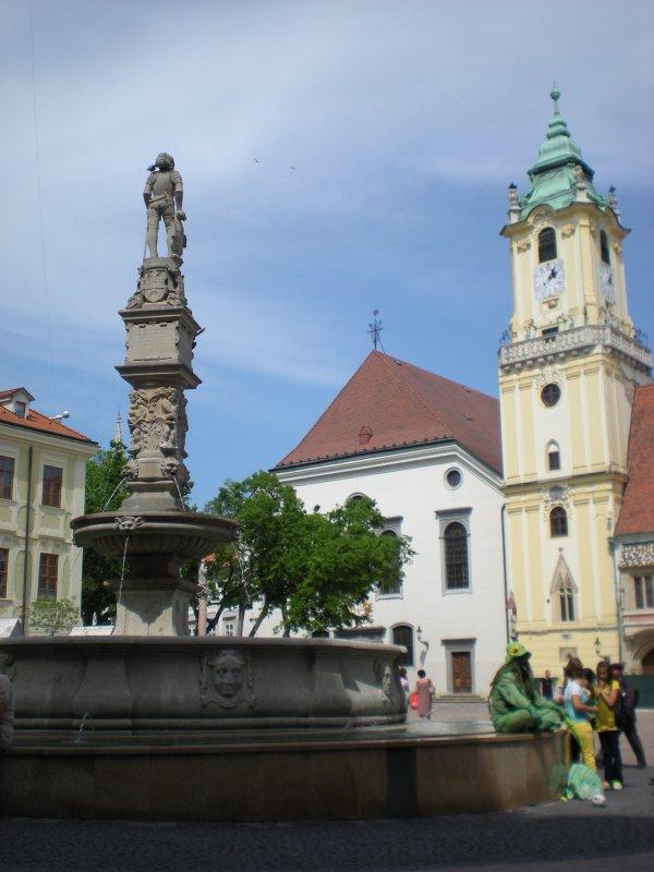 Bratislava's main square