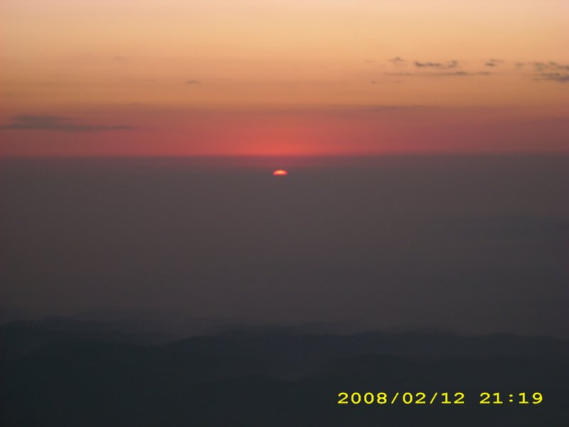 Sunset at Vaishno Devi