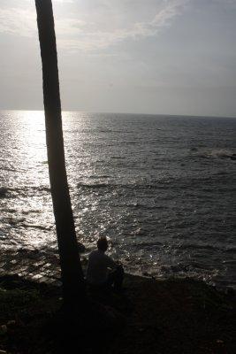 36.0. Sunset at Baga Beach