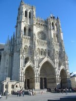Cathedral in Amiens
