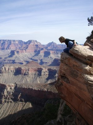 sara, Grand Canyon