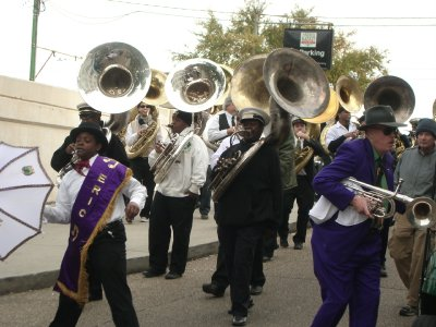 Another brass band at the street